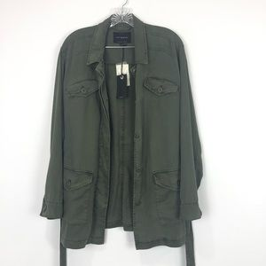 Lucky Brand Utility Green Jacket Size Small